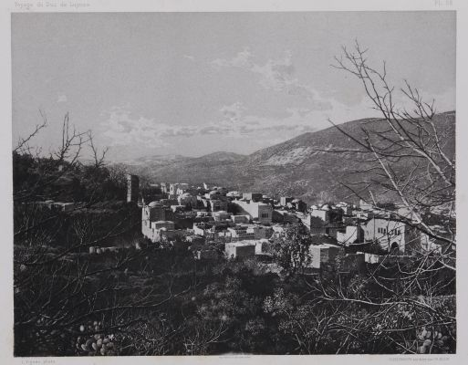 PL. 22 Naplouse: Base du Mont Garizim