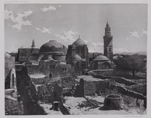 PL. 24 Jérusalem: Le Saint Sépulcre