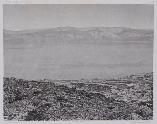 PL. 26 Mer Morte: Vue Prise D'Ain-Jidy. (Engaddi)