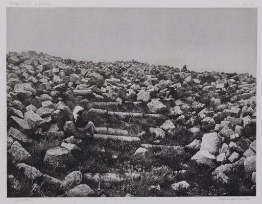 PL. 35 Djebel-Mousa: Santuaire Ruine Situé au Sommet