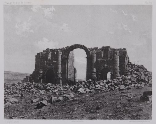 PL. 51 Djerash: Arc de Triomphe
