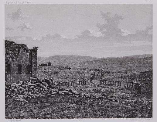 PL. 52 Djerash: Vue Générale Prise du Temple du Sud