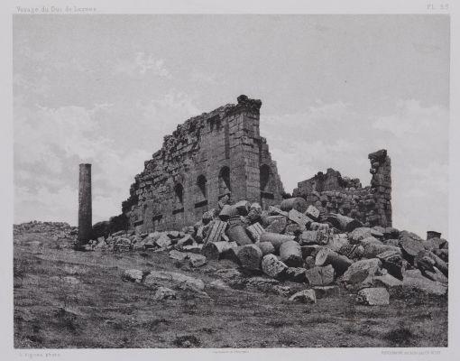 PL. 53 Djerash: Temple du Sud