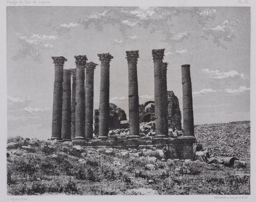 PL. 55 Djerash: Temple de Jupiter