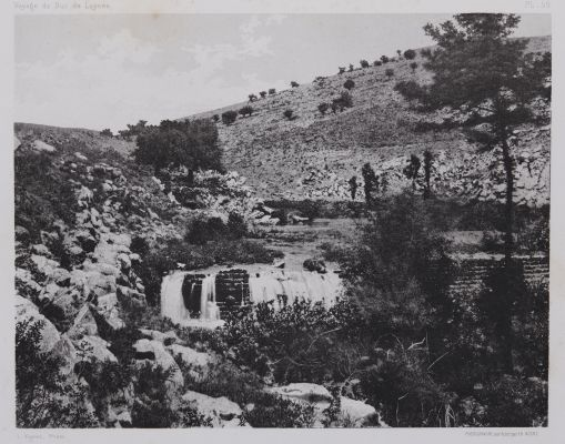 PL. 59 Source du Wady Hasbany