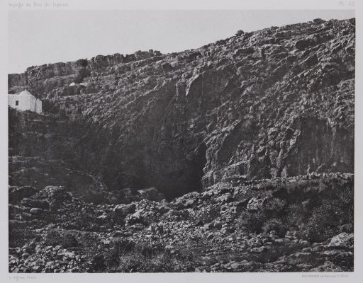 PL. 62 Banias: Grotte de Pan