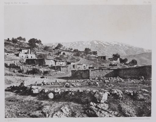 PL. 64 Racheya: et le Djebel-es-Scheikh