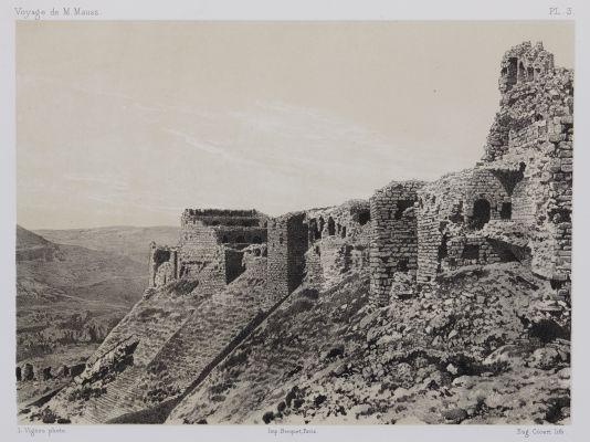 PL. 3 Karak. Angle Nord est de la Forteresse