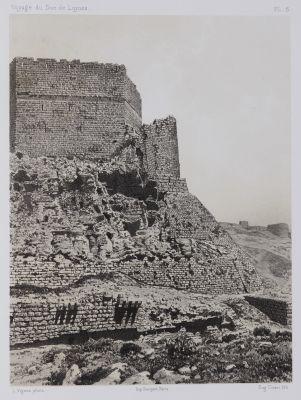 PL. 6 Karak. Face Sud De La Forteresse