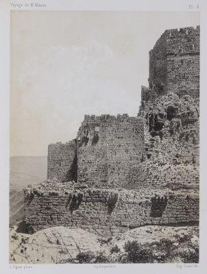 PL. 8 Karak. Extrémité Sud-Ouest du Château et de la Premiére Enceinte de la Forteresse