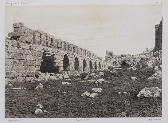 PL. 9 Karak. Chemin de Ronde de la Premiére de la Forteresse