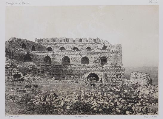 PL. 10 Karak. Vue Intérieure de L'Extrémité Sud de la Forteresse