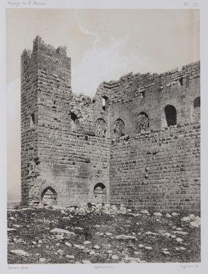 PL. 12 Karak. Détails de la Tour Dite De Malek-Ed-Daher