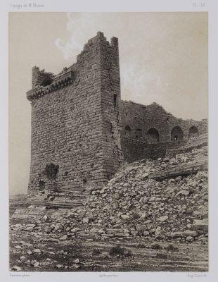 PL. 13 Karak. Détails de la Tour Dite de Malek-Ed-Daher