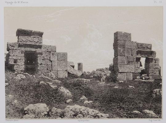 PL. 15 Zat-Rass. Ruines des Propylées du Grand Temple