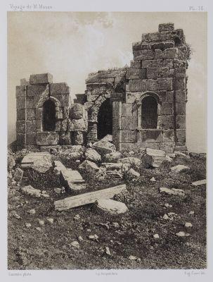 PL. 16 Zat-Raz. Face Sud du Petit Temple
