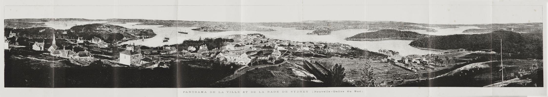 Panorama de la Ville et de la Rade de Sydney