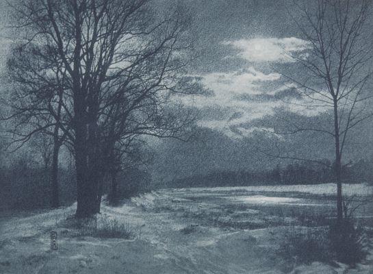 Winternaught an der Isar