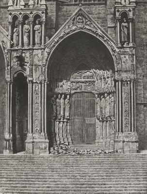 Cathédrale De Chartres. Porche Méridional. Porte de droite, XIIIe Siècle'