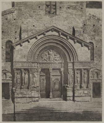 Arles, Portail de l'église Saint-Trophime