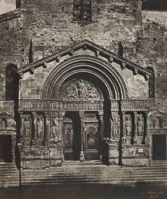 Portail de Saint-Trophime d'Arles