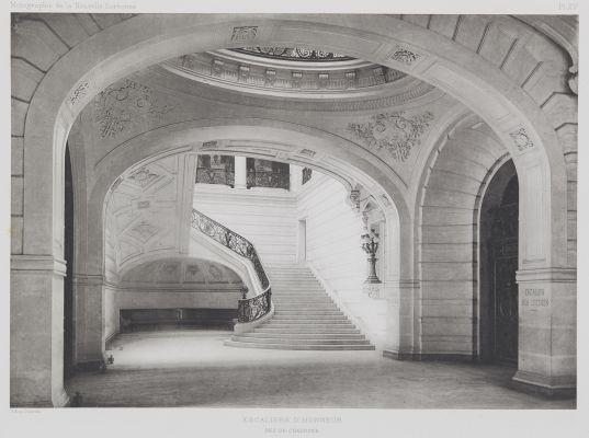 Escaliers D'Honneur (Rez-de-Chaussée)