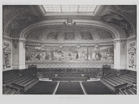 Grand Amphithéâtre (Pl. XVII)