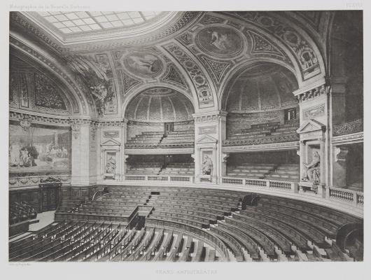 Grand Amphithéâtre (Pl. XVIII)