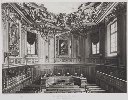 Faculté des Lettres (Pl. XXXIV)