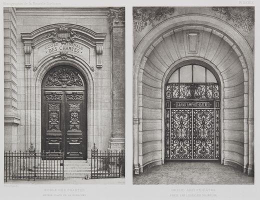Ecole Des Chartes; Grand Amphithéâtre