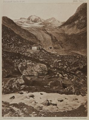 Die Jamthal-Hütte