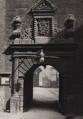 Archway in Outer Court, Looking Towards the Inner Court