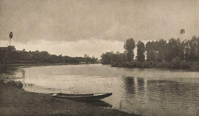 Crépuscule a Pont-de-l'Arche