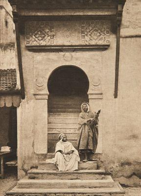 Entrée d'une vieille Mosquée (alt)
