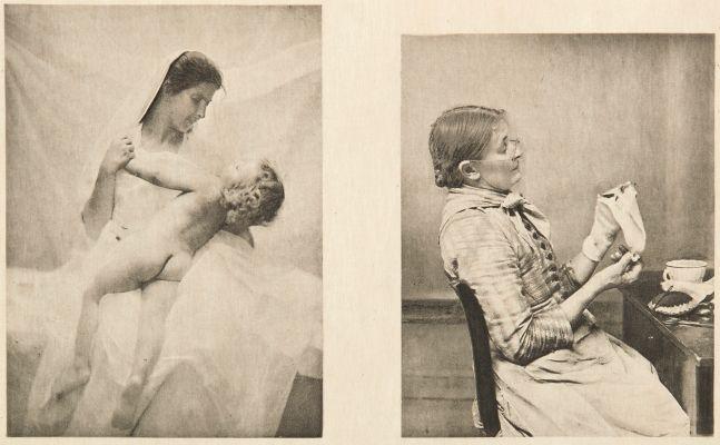 Diptych: Amour maternel & Bien embarrassée