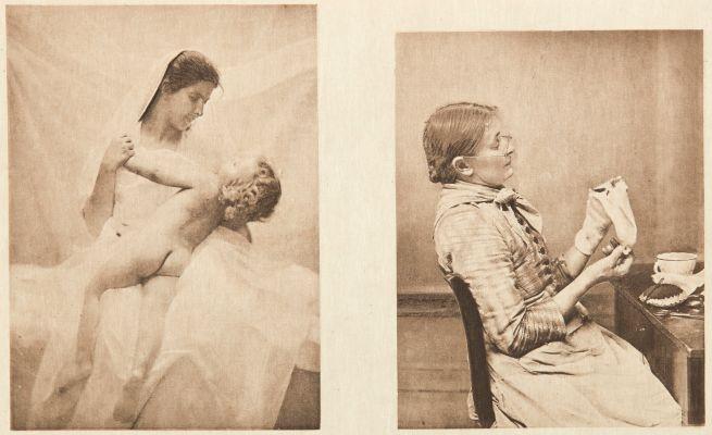Diptych: Amour maternel & Bien embarrassée (alt)