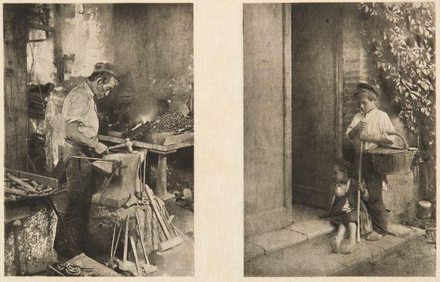 Diptych: Le Forgeron & Les Petits Mendiants