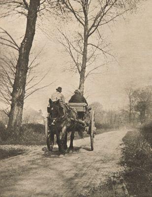 En route pour le Marché