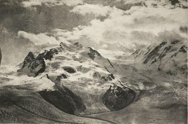 Un Orage au Mont-Rose