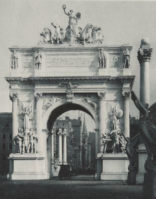 The Dewy Triumphal Arch