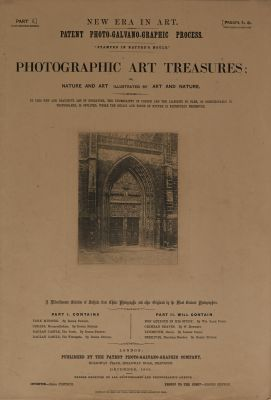 Photographic Art Treasures, Part I (Folio)