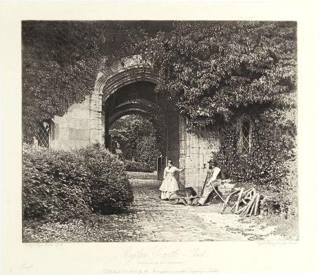 Raglan Castle, The Porch