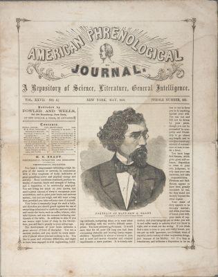Portrait of Matthew B. Brady