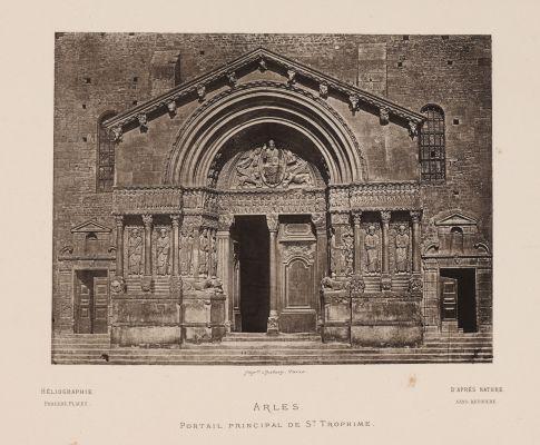 Arles. Portail Principal de St. Trophime