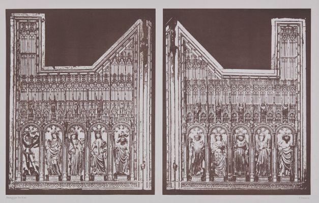 Volets du Rétable D'autel du XIV Siécle, No. 1