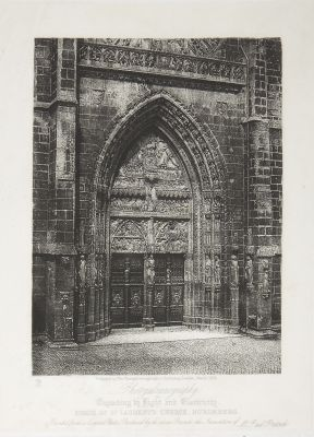 Porch of St. Laurent's Church, Nuremberg
