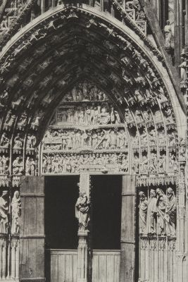 Chartres Cathedral Porch  (detail)