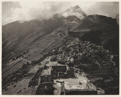 Upper Macchu Picchu, looking south