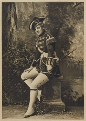 "Miss Ada Rehan as ""Captain Pinch"" ""The Recruiting Officer"""