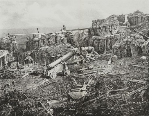 Fig. 59a Interior of the Redan, After the Final Assault